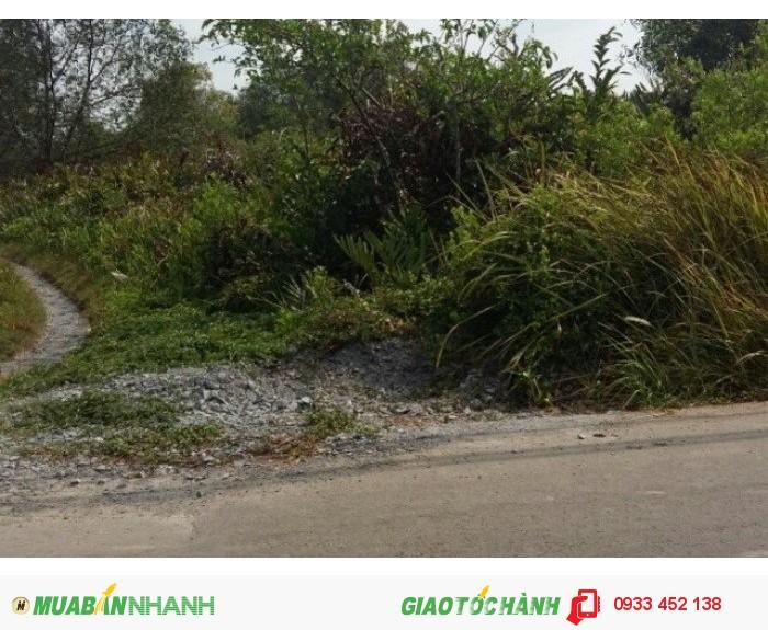 Đất chính chủ cần bán lại 1326m2 đất mặt tiền đường Nguyễn Bình nối dài lộ giới 40m2, giá chỉ 3tr/m2