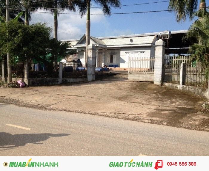 Cần tiền Bán gấp nhà xưởng tại đường Tố Hữu, Xã Quyết Thắng, Tp Thái Nguyên