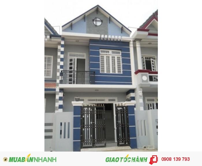 Nhà Phố Nguyễn Thị Tú ngay chợ giá chỉ từ 620 Triệu
