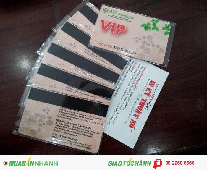 Thành phẩm in thẻ nhựa bạn nhận được từ In Kỹ Thuật Số - thẻ được in �...