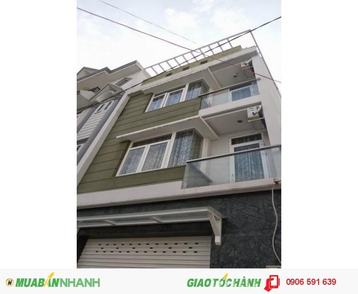 Cần tiền bán gấp nhà đường Ni Sư Quỳnh Liên,P11,QTB 3.6mx19m giá 6.45 tỷ Thương Lượng Nhiều