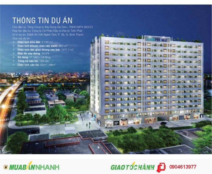 Mở bán căn hộ Soho Premier Bình Thạnh, mặt tiền đường, giá hấp dẫn, liền kề quận 1