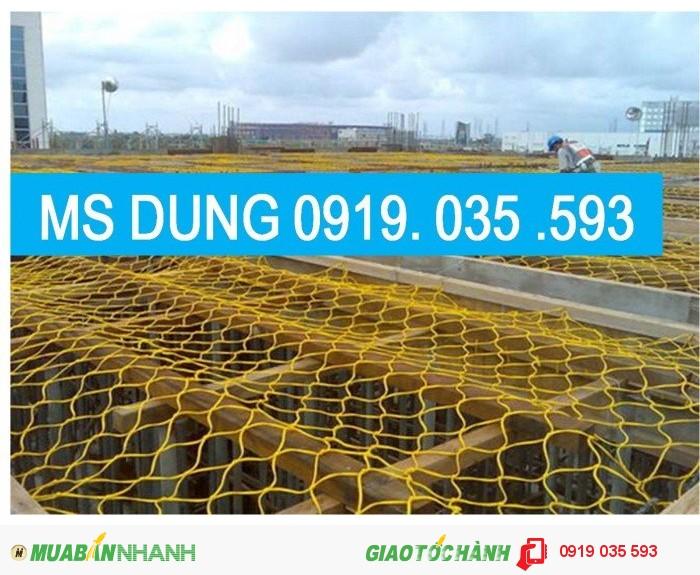 Lưới cản người rơi lưới chống vật rơi lưới an toàn xây dựng1
