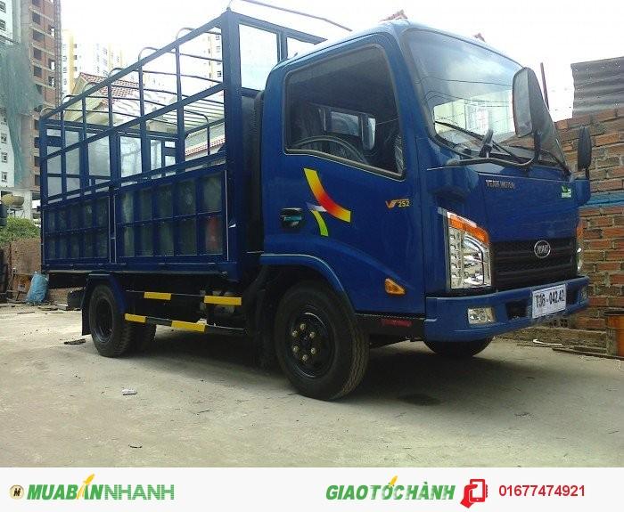 Xe tải Veam giá rẻ,Veam vt252 vào Thành Phố, Veam vt252 2T4