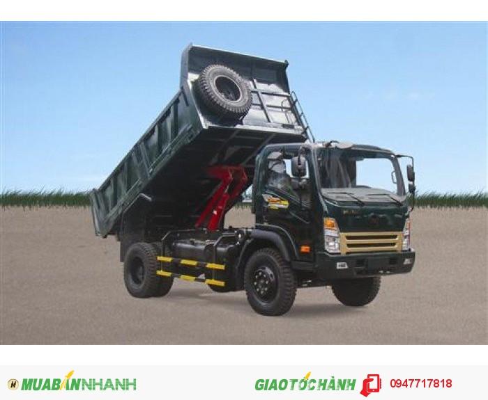 Xe tải ben Hoa Mai 8 tấn 4x2,thùng 6.3 khối,thắng hơi,lốc kê,có số mạnh,xx 2016 0