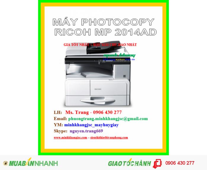 MÁY PHOTOCOPY RICOH MP 2014AD0