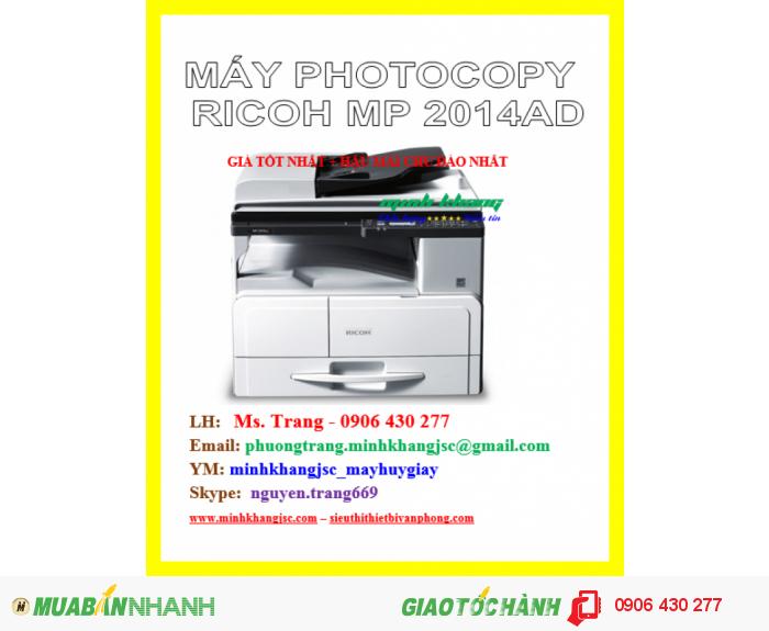 MÁY PHOTOCOPY RICOH MP 2014AD1