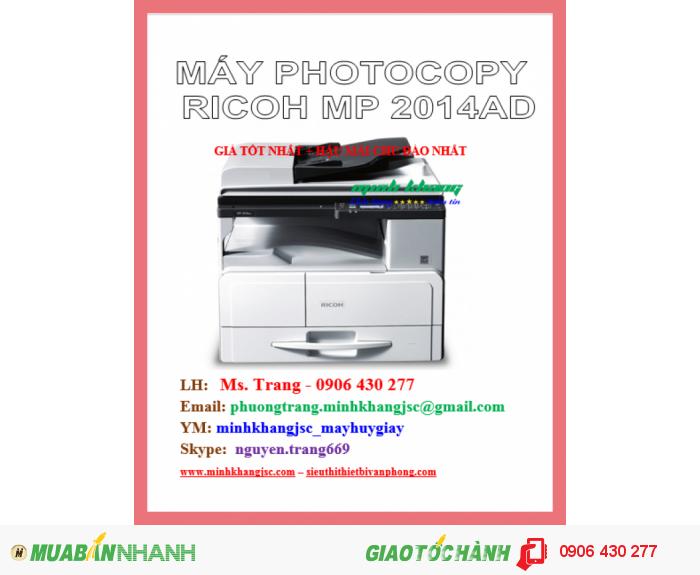MÁY PHOTOCOPY RICOH MP 2014AD3