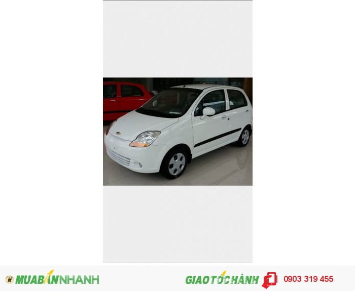 Chevrolet Spark LITE Van bán tải 2 chỗ động cơ 0.8 0