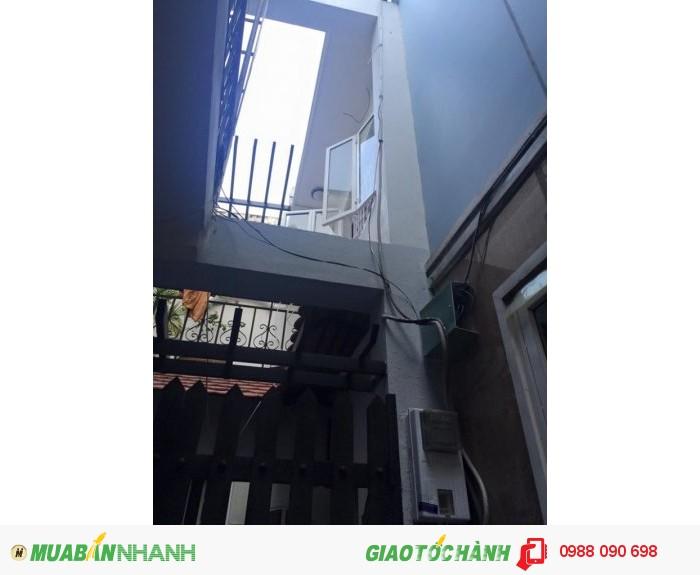 Bán gấp nhà hẻm 3m Bành Văn Trân, p7, Tân Bình, dt:  4.65x10 nở hậu 6m.