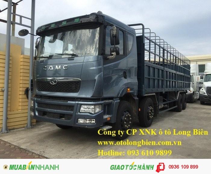 Xe tải thùng 4 chân CamC máy Hino tải trọng 17-19 tấn 2016, 2017