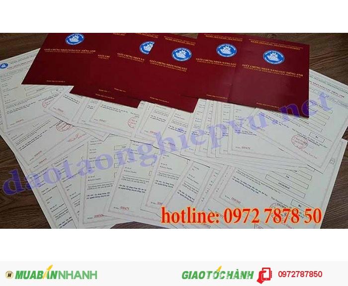 Hội đồng thi Tiếng anh A1- A2, B1- B2 (CERF) tin cậy tại Hà Nội