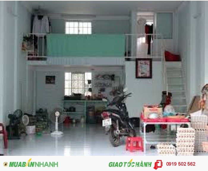 Kẹt tiền. Bán nhà đường Bà Hom, P13, Q6. DT 3x10, trệt + gác gỗ. Giá 1.35 tỷ