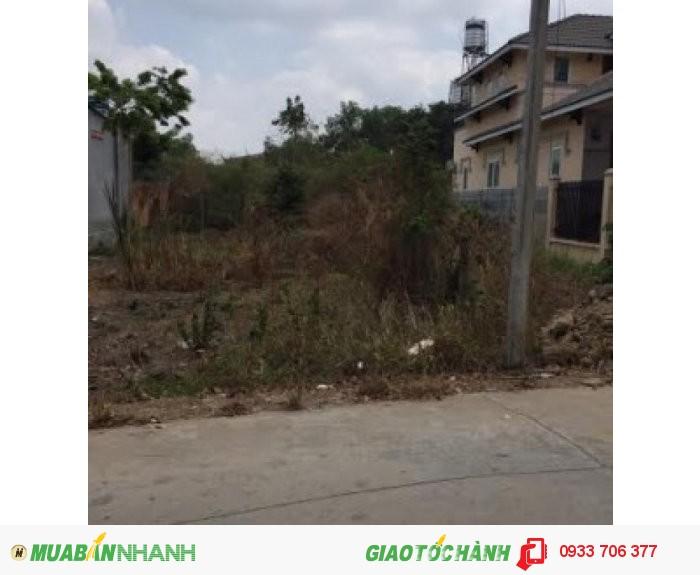 Bán đất chính chủ 10 x 26 = 260 m2  phú chánh C gần bệnh viện phú chánh đang xây.