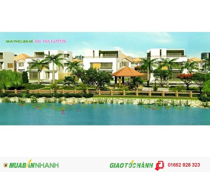 Đất nên khu đô thị An Hạ Lotus, tây Sài Gòn