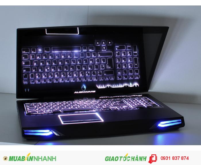 Laptop Dell Alienware M17XR3, i7, 8G, ssd128G, GTX460, giá rẻ