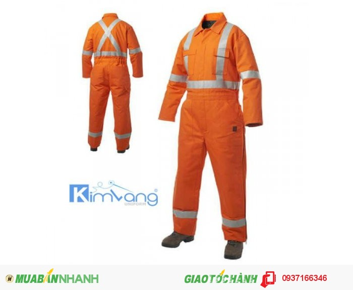 Đồng phục bảo hộ lao động Kim Vàng3