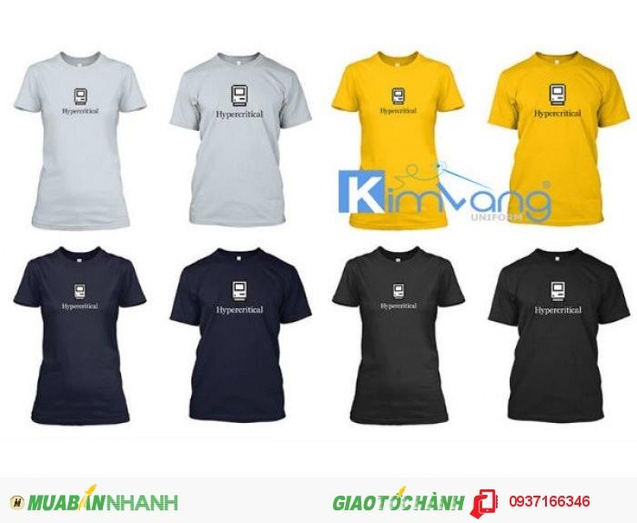 May đồng phục áo thun - Công ty May Kim Vàng1