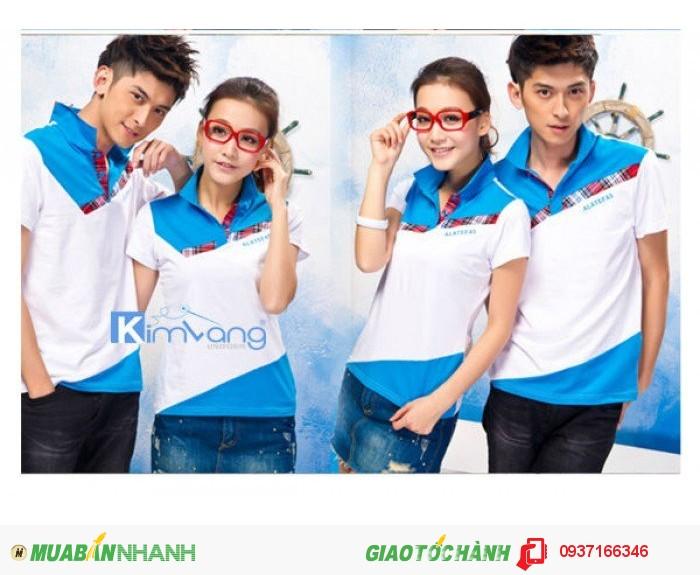 May đồng phục áo thun - Công ty May Kim Vàng2