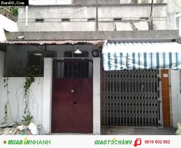 Cần trả nợ, bán nhà đường Cư Xá Phú Lâm A, P12, Q6, DT 4.02x20. Giá 1.8 tỷ