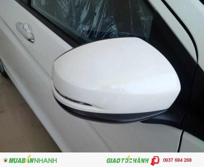 Bán xe Honda City 1.5đời 2016 màu trắng