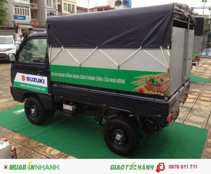 Suzuki 500kg-750kg-xe tải suzuki 5 tạ thùng mui bạt