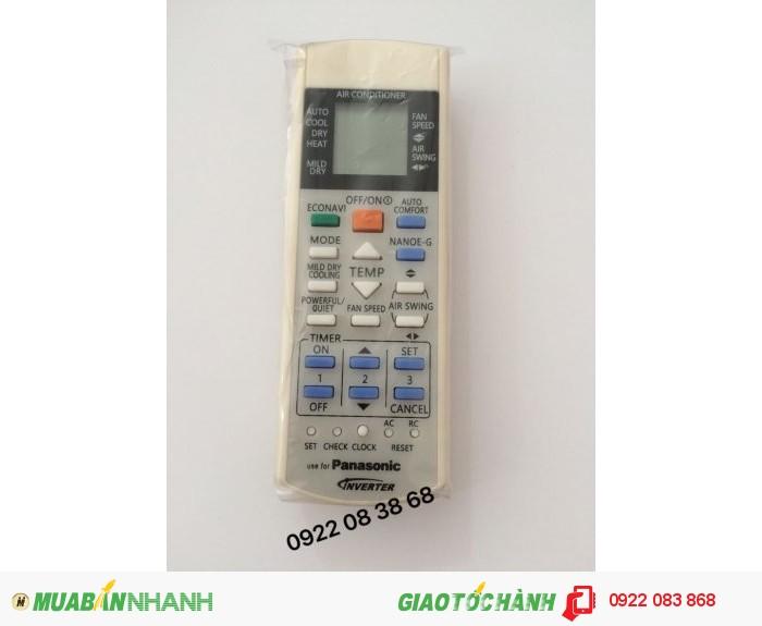 Remote máy lạnh Panasonic Loại Inverter giá: 90.000