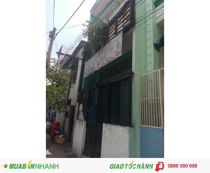 Bán gấp nhà hẻm 4m CMT8, P.5, Tân Bình. DT 3.4x11.75m
