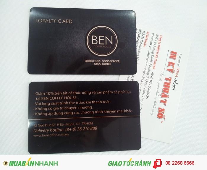 In VIP card giá rẻ TPHCM