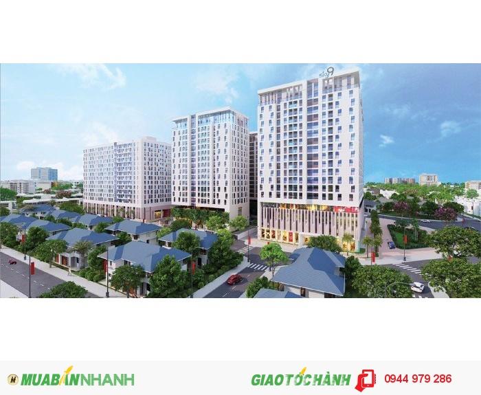 Ngay trung tâm Q9, vị trí huyết mạch của cả khu Đông - căn hộ 3 mặt tiền đường - giá chỉ 749 triệu