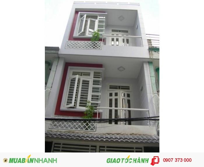 Bán nhà đường TL17, P. Thạnh Lộc, Q12, HCM
