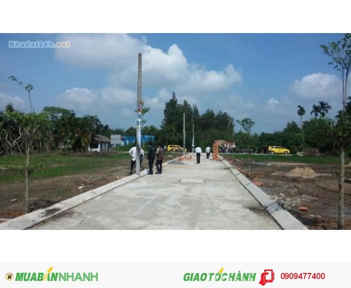 Bán đất KCN Tân Đô, Đức Hòa, DT100m2,SHR