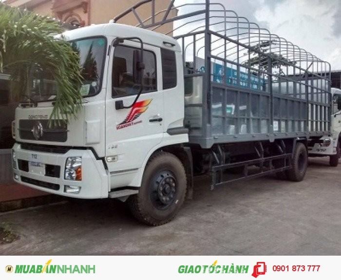 Giá xe tải Dongfeng thùng dài 7m5 tải 8 tấn 9 tấn máy Cummin nhập khẩu rẻ nhất Sài Gòn, Bình Dương