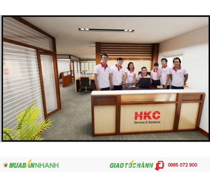 HKC Việt Nam làm việc hết mình