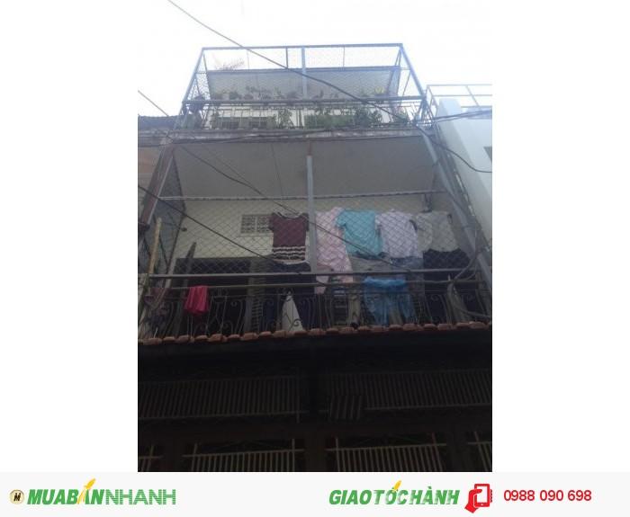 Bán nhà hẻm Bùi Thị Xuân, Phường 2, Tân Bình. Diện tích 3.5x12m