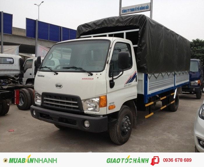 Hyundai HD800 tải trọng 8,8 tấn, đã có xe và hồ sơ