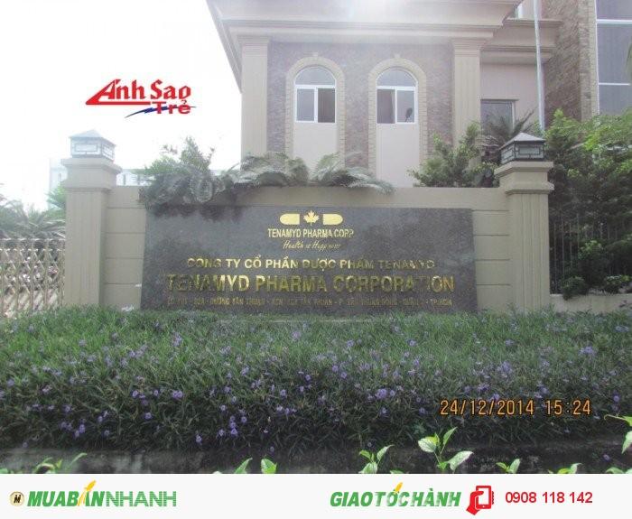 Công nghệ làm biển quảng cáo chữ inox  đồng đã có mặt ở Việt Nam từ khá s�...