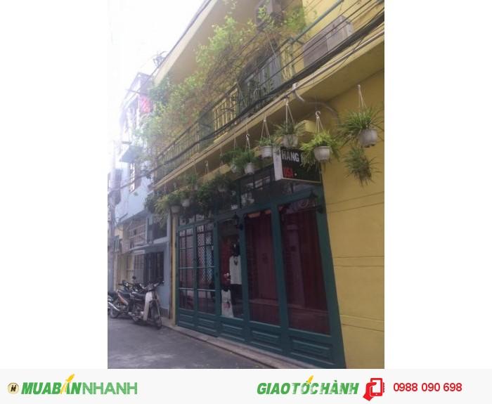 Bán nhà hẻm xe hơi Lê Văn Sỹ, P.1,Tân Bình. DT 15x5m,