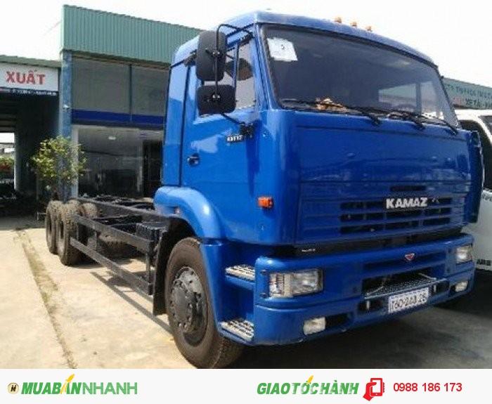 Tổng đại lý bán xe tải KAMAZ 65117, 14T5 Trả Góp Giao Xe Toàn Quốc