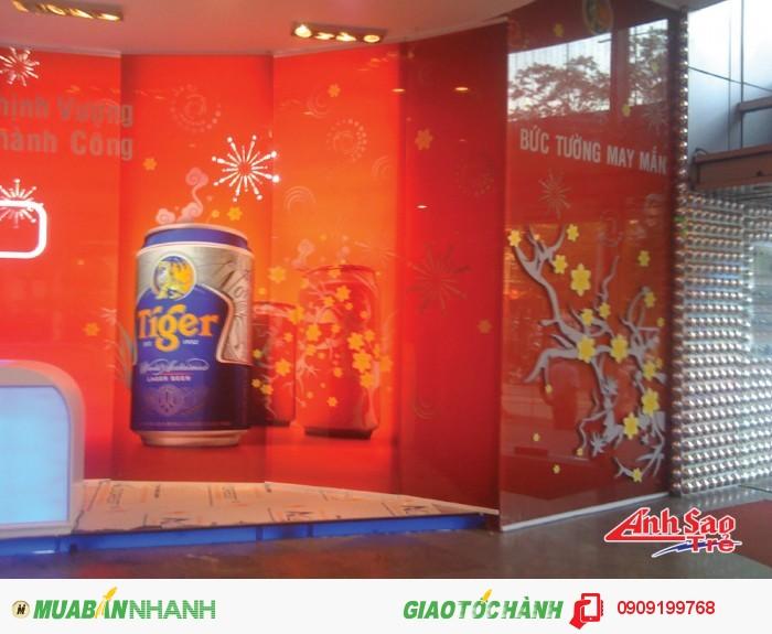 Thiết kế gian hàng triển lãm cho Sài Gòn Center.