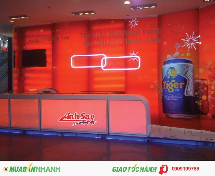 booth quảng cáo