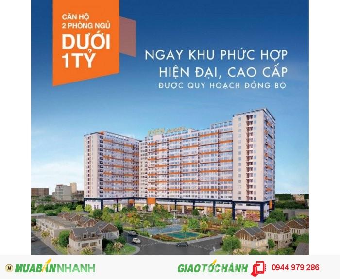 Mở bán căn hộ 9 View, trung tâm Q. 9, 850 triệu/căn 2 PN.