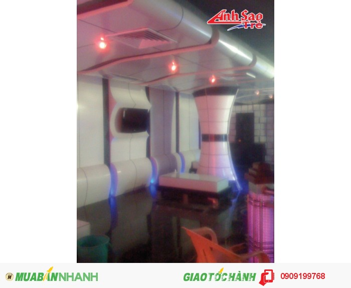 Thi công trang trí nội thất phòng karaoke