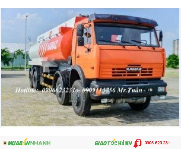 Xe bồn xăng dầu Kamaz 23m3 | Bán xe bồn Kamaz 23m3 &25m3 tại Bình Dương