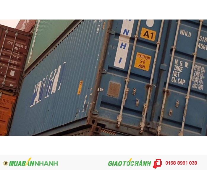 Container kho 40 feet HC giá 25 triệu