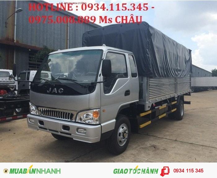 Bán trả góp xe tải jac 7,25 TẤN ( jac 7.25T) jac 7t25 jac 7.25t jac 7T25 đóng sẵn thùng.