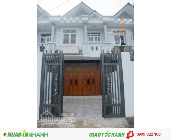 Nhà ngã tư ga Nguyễn Oanh Gò Vấp.
