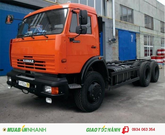 Xe Tải Kamaz  65117- 3 chân 2 cầu thật  6x4 tải trọng 15 tấn thùng 7.8 m mới 100% giá rẻ 3