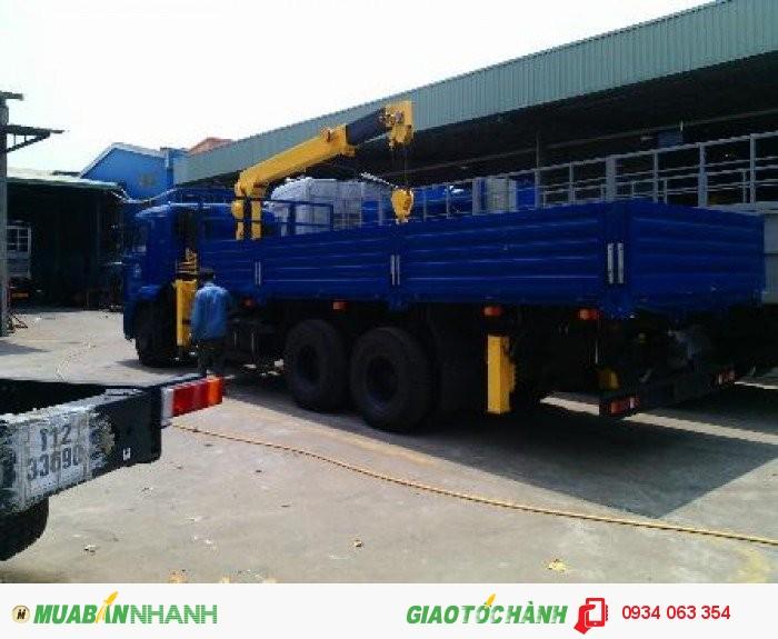 Xe Tải Kamaz  65117- 3 chân 2 cầu thật  6x4 tải trọng 15 tấn thùng 7.8 m mới 100% giá rẻ 4
