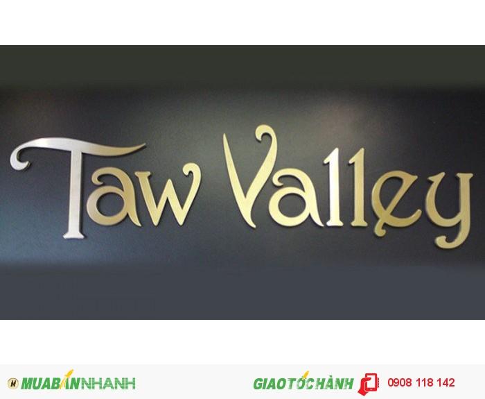 Chuyên cung cấp dịch vụ thi công, thiết kế và gia công inox vàng, làm chữ nổi in...